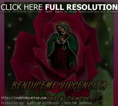 Bendiceme Virgencita